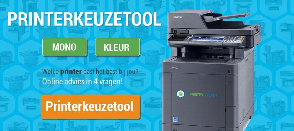 De Printerkeuzetool van DePrinterexpert, online advies in 4 vragen