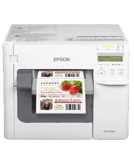 Epson ColorWorks C3500 kleuren labelprinter DePrinterexpert