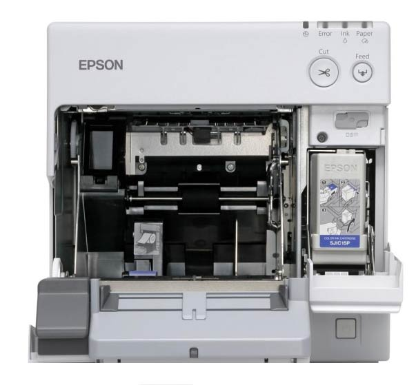 Epson ColorWorks C3400 kleuren labelprinter DePrinterexpert