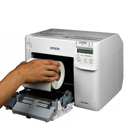 Epson kleuren labelprinter ColorWorks C3500