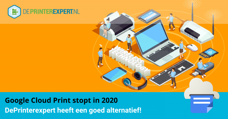Alternatief voor Google Cloud Print - DePrinterexpert